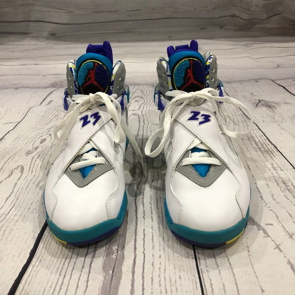c88d68f265d Jordan Shoes | Womens Retro Viii Aqua Sneakers | Poshmark